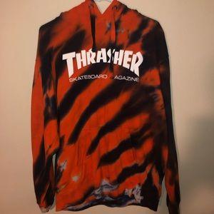 Thrasher Magazine Tye-Dye Hoodie